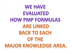 how pmp formulas can help you study