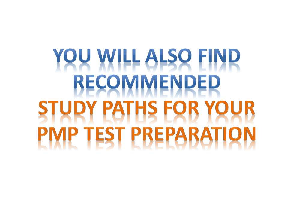 recommendation and study path journeys to pmp exam