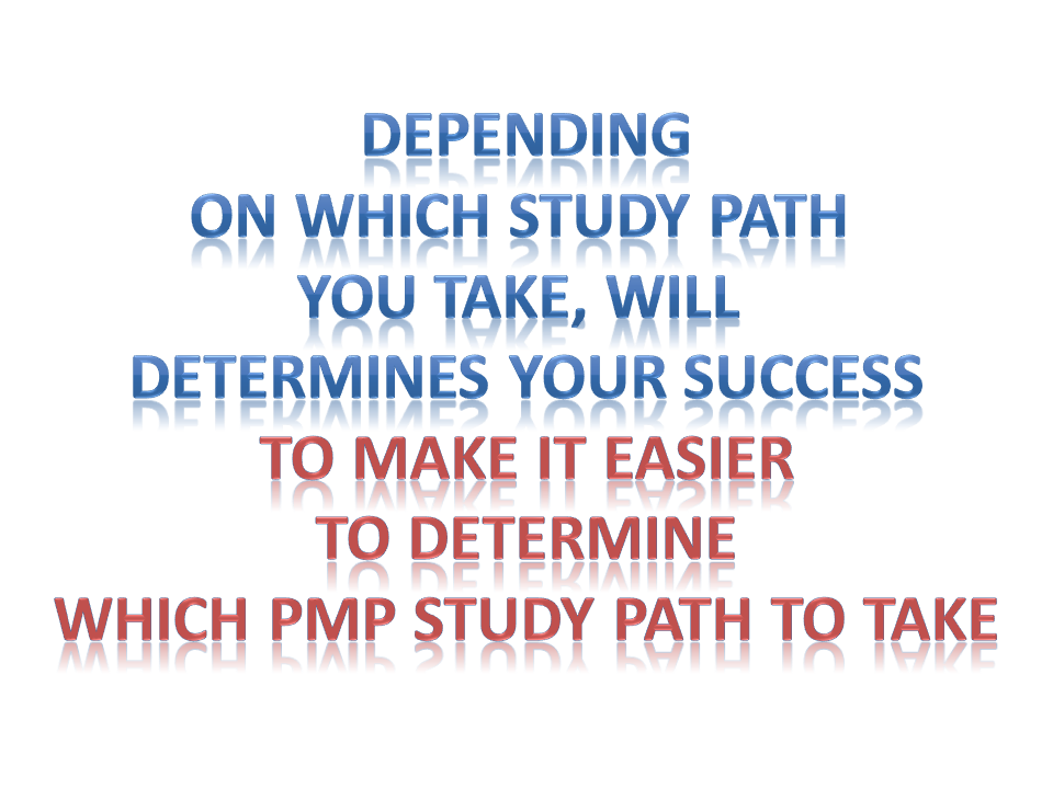 which method of studying for pmp test is right for you
