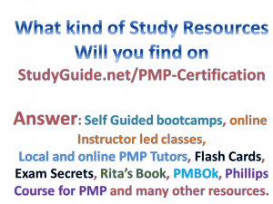 what type of pmp study material is best for you