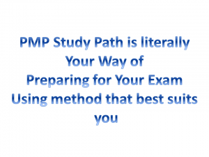 preparing for PMP exam as best method