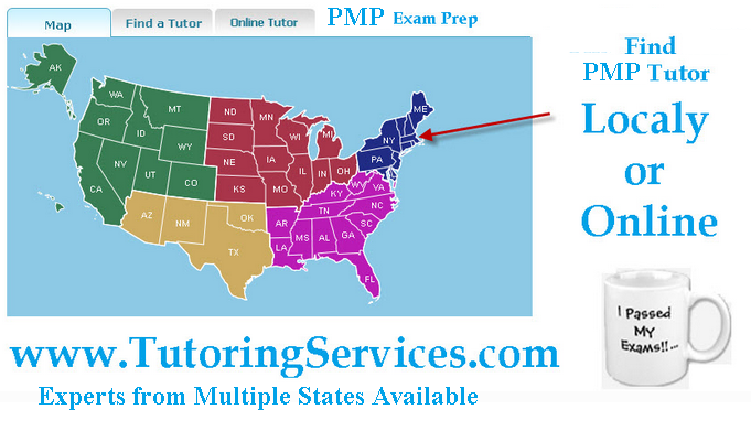 PMP Training locally or online by independent tutors